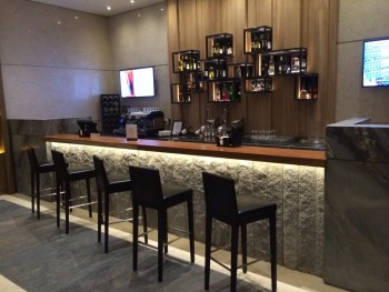 Plaza Premium Heathrow bar