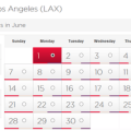 Virgin Atlantic LA availability
