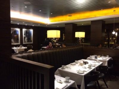 Conrad London St James breakfast room