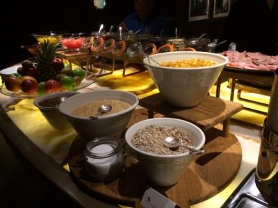 Conrad London St James breakfast