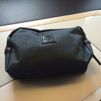 British Airways First Class toiletry bag Aesop