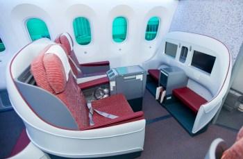 LAN 787 business class