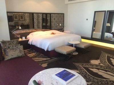 Jumeirah Etihad Towers review bedroom
