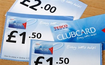 Clubcard vouchers