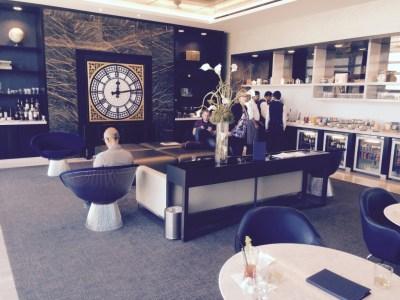 United First Class lounge Heathrow Terminal 2