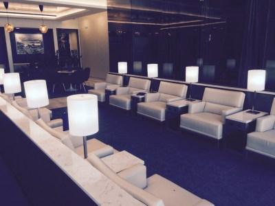 United First Class lounge Heathrow Terminal 2 seats