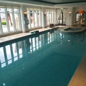 InterContinental Amstel Amsterdam swimming pool
