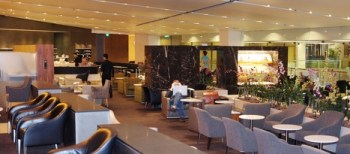 British Airways lounge Singapore 2