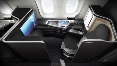 British Airways 787-9 First 2
