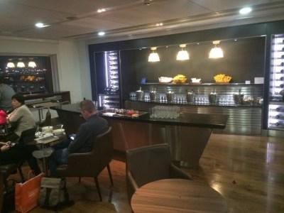 British Airways Galleries Club lounge Heathrow Terminal 3