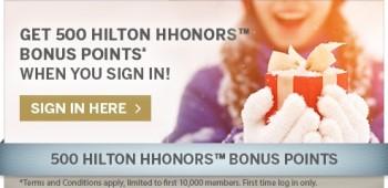 Hilton shop to earn