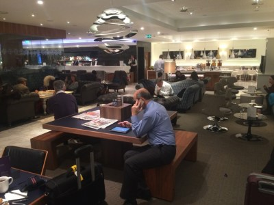 No 1 Traveller lounge Heathrow Terminal 3 review