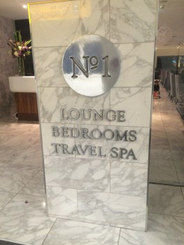 No1 Traveller lounge Heathrow Terminal 3 review