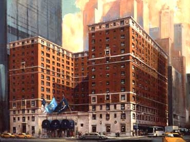 Review of InterContinental New York Barclay hotel