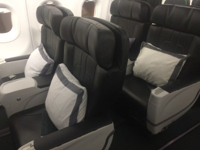 Qatar Airways short haul First Class review