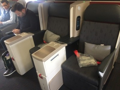 Turkish airlines business class review Boeing 777-300ER