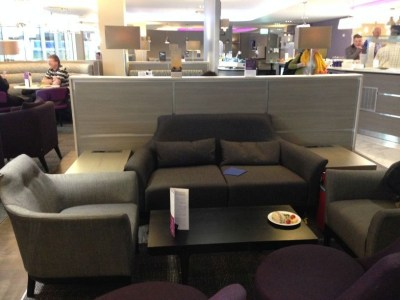 Review Of The Refurbished Aspire Lounge At Luton