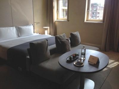 ME Milan room bed 2