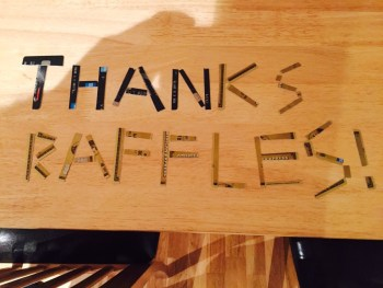 Thanks Raffles