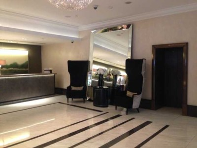 InterContinental Park Lane reception area