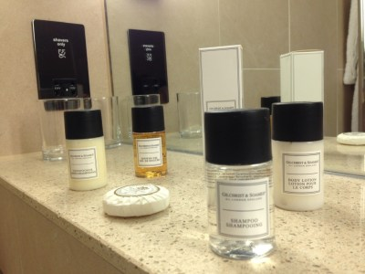 Nadler Hotel Victoria review - Bathroom Toiletries