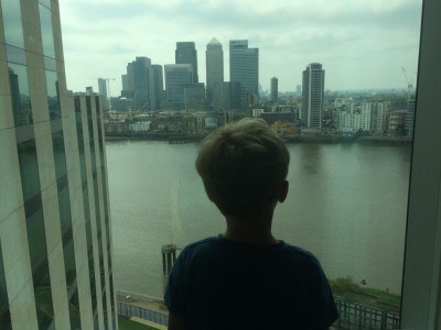 InterContinental London O2 review view