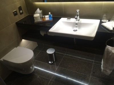 InterContinental London O2 review bathroom