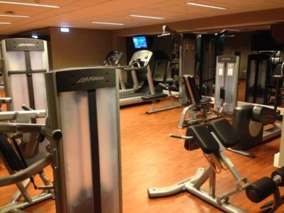 InterContinental Estoril review gym 2