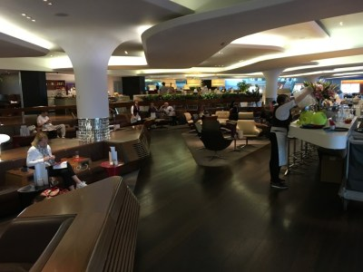 Review Virgin Atlantic Clubhouse lounge London Heathrow Terminal 3