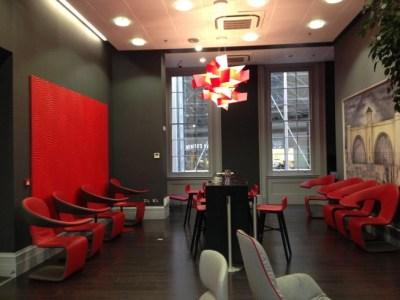 virgin east coast first class lounge kings cross bar table