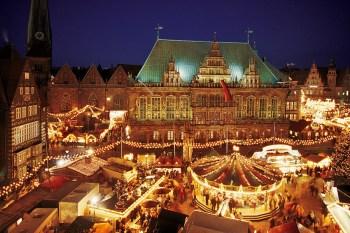 Bremen Christmas market British Airways