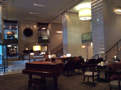 InterContinental Geneva review lobby