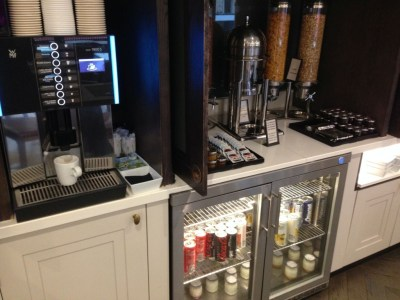 hilton-paris-opera-executive-lounge-coffee-machine-cereals-review