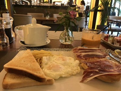 Gran Hotel Montesol Curio Hilton Ibiza breakfast