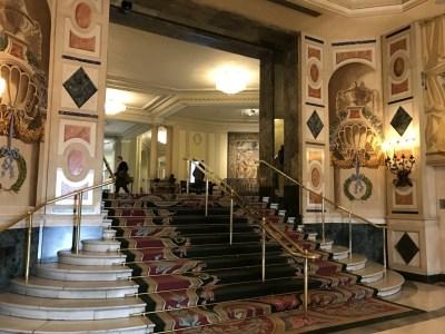 The Westin Palace Madrid entrance hall