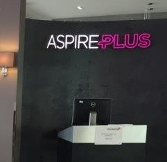 AspirePlus lounge Bristol Airport