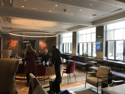Review new Eurostar business premier lounge Paris Gare du Nord