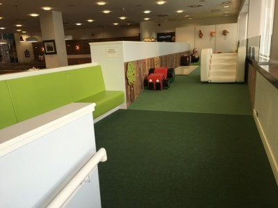 Upperdeck lounge Glasgow Airport review