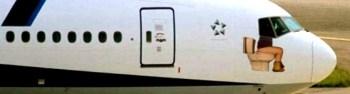 Airport toilet