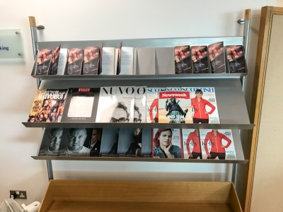 Review British Airways Terraces lounge newcastle magazines