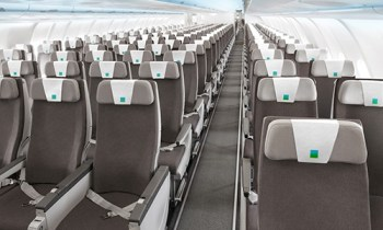 Level airline seating