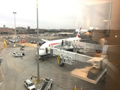 New BA lounge Boston A380