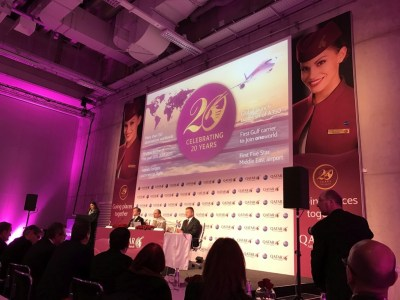qatar airways new business class seat press conference