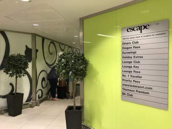 Escape Lounge Stansted 2
