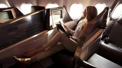 Virgin A330 aisle 2