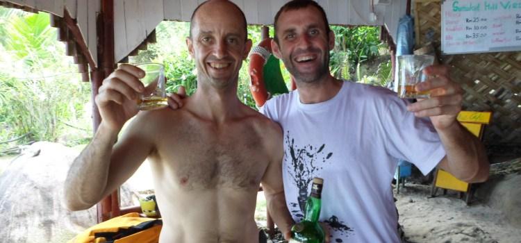The Dragon's Horns on Tioman Island, Malaysia, Part9: Trip Report, Polish Princess 270m / 7b