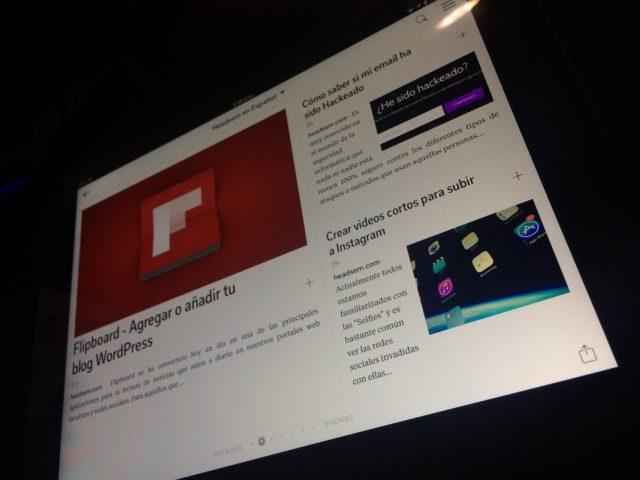 como integrar wordpress con flipboard