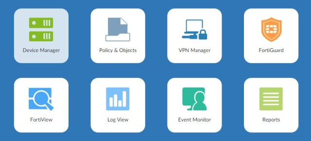 Fortimanager home web demo