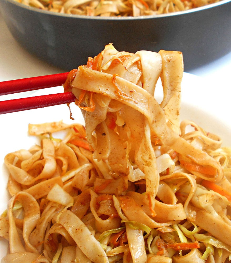 Easy Lo Mein Recipe (Vegan)
