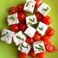 Vegan Feta Cheese - Homemade